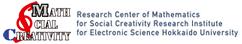 北海道大学電子科学研究所  附属社会創造数学研究センター - Research Center of Mathematics for Social Creativity Research Institute for Electronic Science Hokkaido University