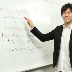 Leader's Voice 03<br />Ikki Fukuda<br />Second-Term Transfer Student Growth through Integration of Mathematics and Science<br />Foster Cross-Field Perspectives in In-Depth Specialized Research
